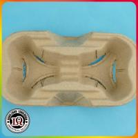 Disposable Paper Pulp 2 cup carrier