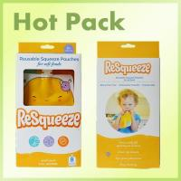 Buy cheap Squeeze refillable baby food pouch from wholesalers