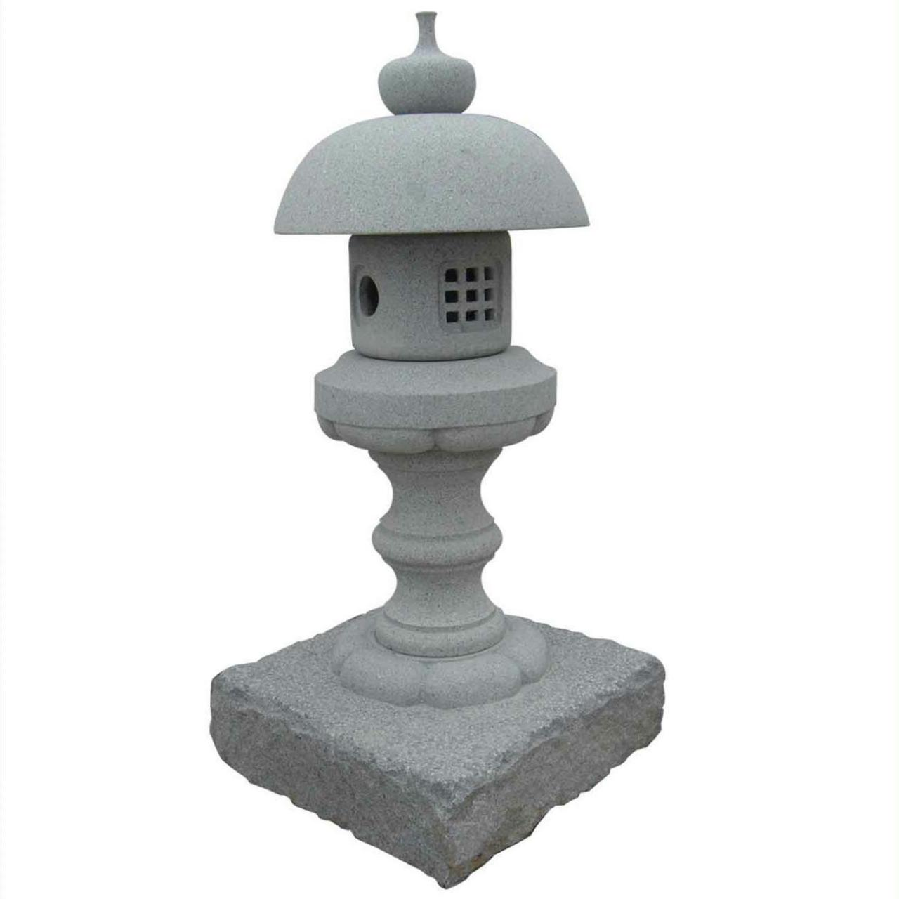 Natural stone handcarved landscaping garden lantern for sale Manufactures