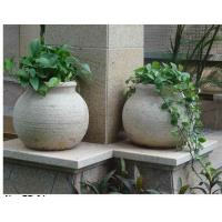 Wholesale Garden stone vase from china suppliers