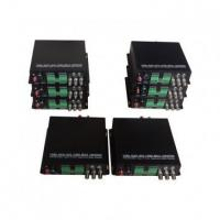 Buy cheap HD-SDI to Fiber Converter Home ENG Use Full duplex HD-SDI Video Multiplexer from wholesalers
