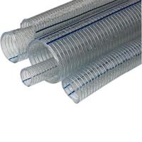 Buy cheap PVC spring hose PVC steel wire reinforced hose from wholesalers