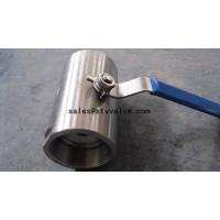 Buy cheap Forged steel ball valve 1PC Forged Ball Valve from wholesalers