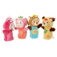 Plush Toys Hand Puppet Plush Bear Toy Manufactures