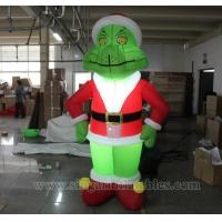 Buy cheap Lighting Decorations Inflatable Christmas party lighting grinch from wholesalers