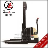 Wholesale 1.2T Staddle full electric stacker from china suppliers