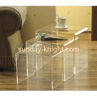 Buy cheap Clear perspex side table for dining room AFK-009 from wholesalers
