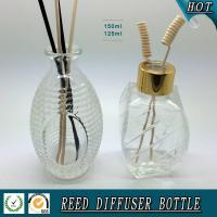 Buy cheap 150ML Egg-Shaped reed diffuser glass bottle from wholesalers