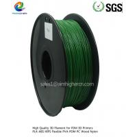 Wholesale PLA filament Dark Green color 1.75/3.0mm from china suppliers
