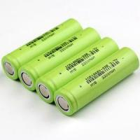 Buy cheap Factory Price 2200 mAH Capacity Recharging 18650 Lithium Cell Battery for Powerbank from wholesalers