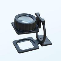 Wholesale 20X Warp and Weft Density Mirror/Magnifiers or Magnifying Glass Folden Metal Structure from china suppliers