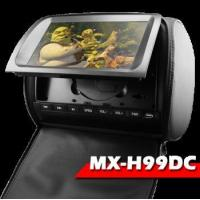 Buy cheap 2x9 Headrest DVD player with HD Piexels/ 32 bit games/ IR/ SD/ USB/ Wireless pad/ Multi-languange from wholesalers