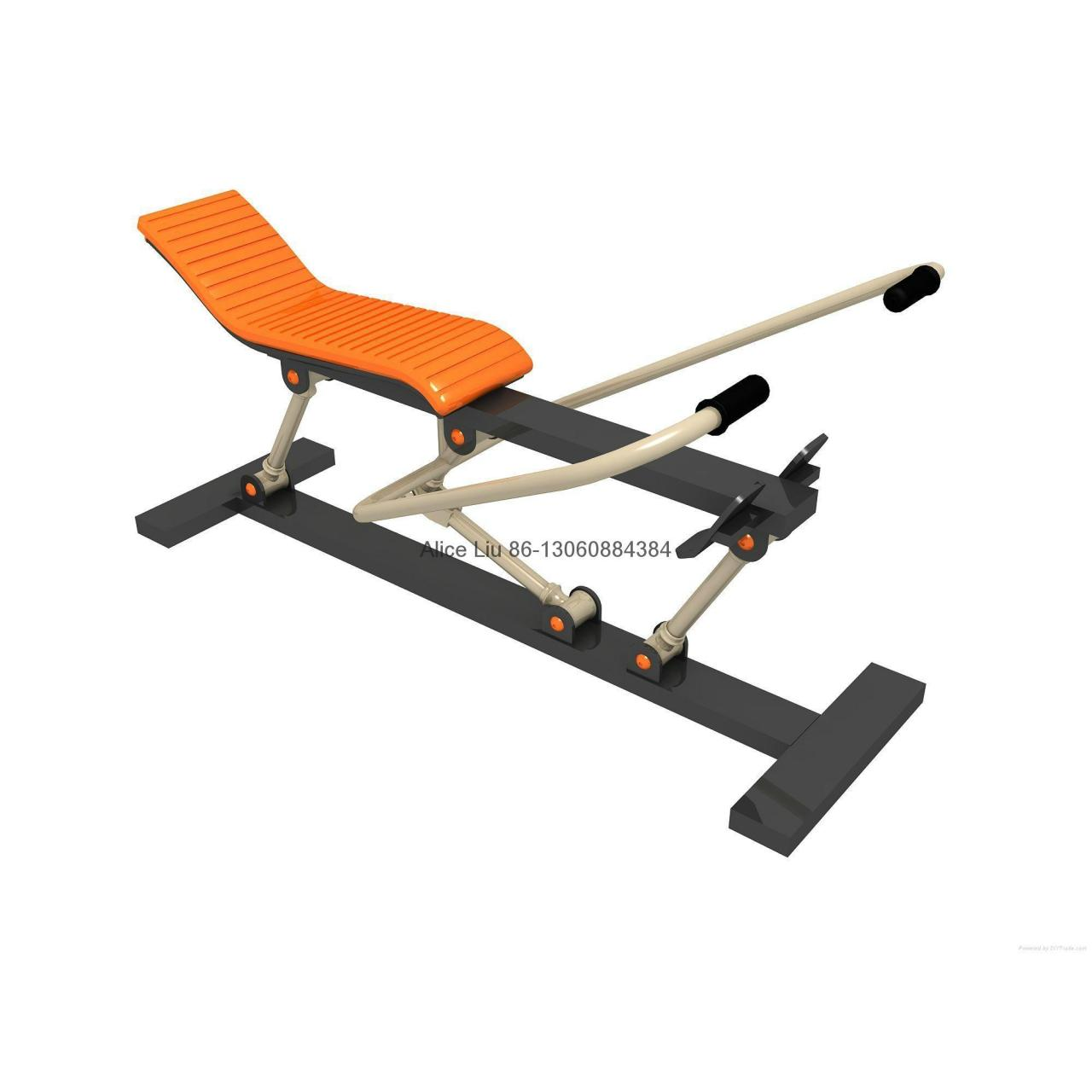 Wholesale Rowing machine outdoor body-building equipment from china suppliers