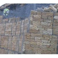 Buy cheap Woven wire mesh / mesh cloth Stone Blocks /gabion basket /stone cage from wholesalers