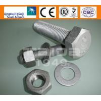 Buy cheap ASTM A325/325M/A490/490M A325/A563/F436 Heavy hex structural bolts product