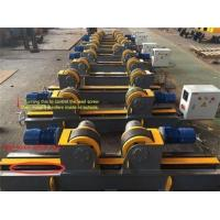 Buy cheap 22000lbs Conventional Welding Rotator ,10 Ton Lead Screw Pipe Stands Welding Rollers from wholesalers