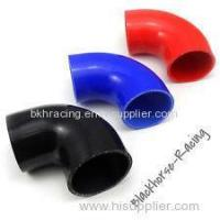 """Wholesale 4"""" to 3"""" Black 90 degree Reducer Elbows Silicone Hose 102mm to 76mm from china suppliers"""