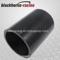Buy cheap Black 4 102mm Straight Silicone Coupler Silicone Hose Pipe Silicone Intercooler Hose from wholesalers
