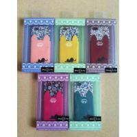 Buy cheap Pussy cat club collection lace Cloth back case with card holder for iphone and s from wholesalers
