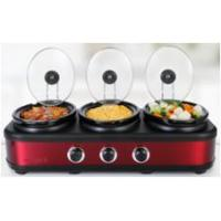 China Slow Cooker Slow Cooker- Triple Buffet on sale
