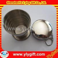 Wholesale Stainless Steel Foldable Cup KC-00824 from china suppliers