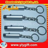 Buy cheap wholesale keyring with torch with custom logo for promotion gift KC-00804-1 product