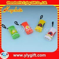 Buy cheap Wholesale LED keyring with torch with custom logo for promotion gift KC-00593 product