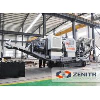 Buy cheap Track Mounted Mobile Crushing Plant LD Series Tracked Mobile Jaw Crushing Plant from wholesalers