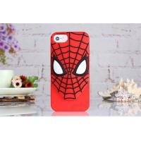 Buy cheap cases For iphone 2015 best selling silicon spider man phone cover for iphone4/4s,5/5s/6/6plus product