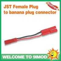 Buy cheap Spare Parts Walkera Hoten-X parts JST Female Plug to banana plug connector from wholesalers