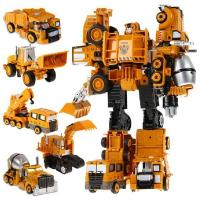 Buy cheap action figure transformers toys vehicle deformation Titan boy toy child robot from wholesalers