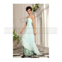 Rhinestone jewel light printed long homecoming dress Manufactures