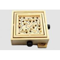 Buy cheap Wooden Toys Wooden Puzzles - RIW-165 Wooden Labyrinth Game from wholesalers