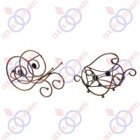 Wholesale New Trolley Shaped Wine Rack Product Model: CYF-04331 from china suppliers