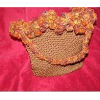 Buy cheap Bags And Purses Crocheted Brown Purse from wholesalers