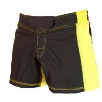 Buy cheap Other Sports Wear MMA boxing shorts yellow and black accept custom design from wholesalers