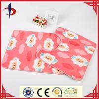 Wholesale print non slip bathroom mat sets from china suppliers
