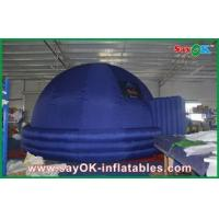 Buy cheap Indoor Digital 7m Inflatable Planetarium Blue Educational Inflatable Dome Tent from wholesalers