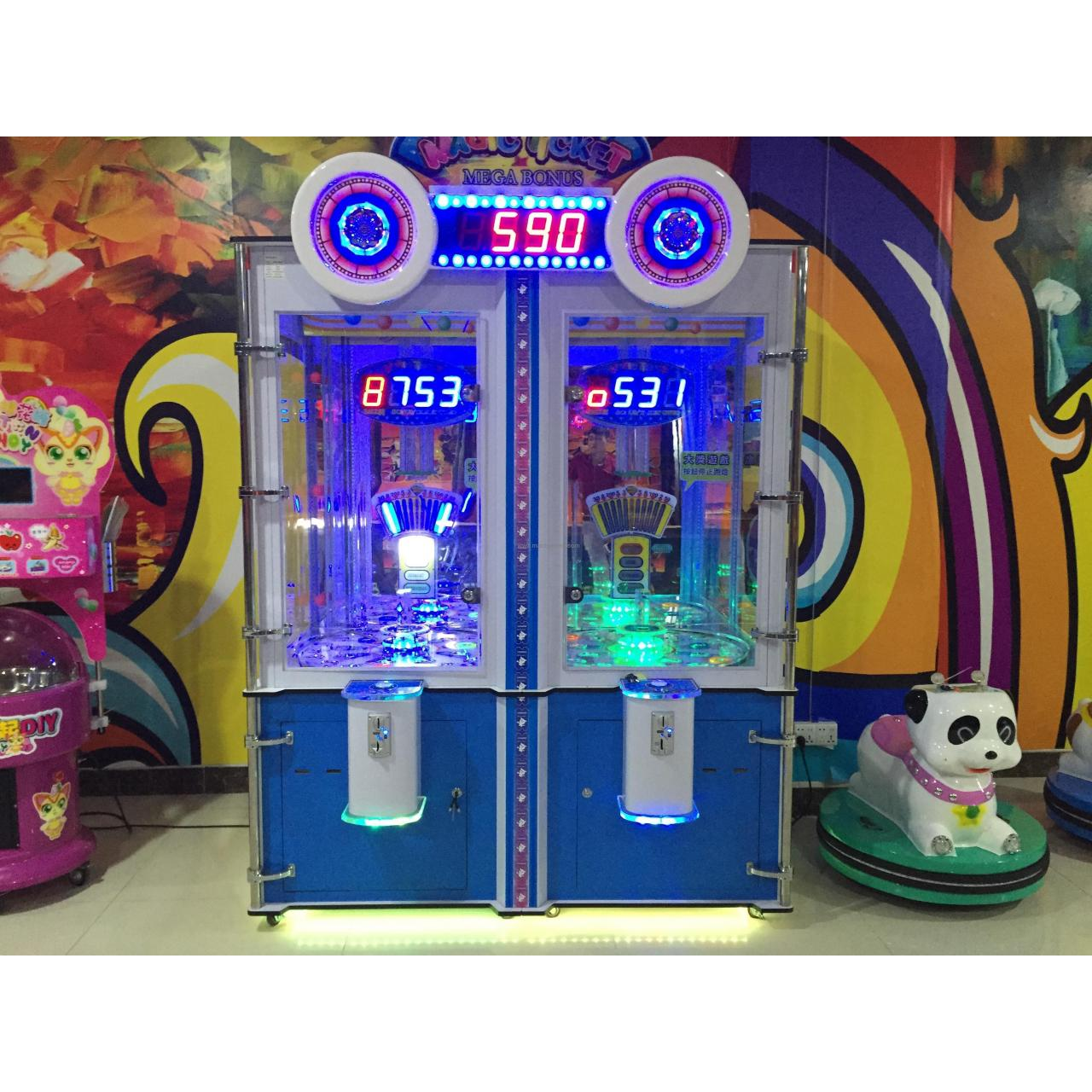 Buy cheap China manufacturer arcade redemption game machine magic ticket prize machine for sale MT-N001 from wholesalers
