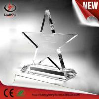 Wholesale acrylic awards/acrylic trophy from china suppliers