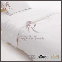 Buy cheap Quilt christmas new product polyester white microfiber bed quilt with polyester fabric from wholesalers