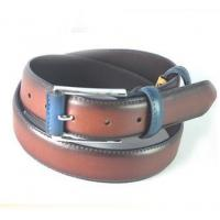 Wholesale 2015 Color Matched Oily Genuine Leather Belt For Men, Mans Cow Hide Belt from china suppliers