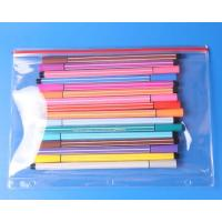 Wholesale Transparent zip slider pencil bag from china suppliers