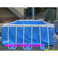 Buy cheap Metal Frame Swimming Pool Metal Frame Swimming Pool with Sand Filter Pumps from wholesalers