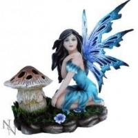 Buy cheap Luna Blue Fairy Figurine T Light Holder from wholesalers