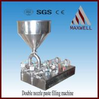 China Semi-automatic Filler ST-2 double nozzle paste filling machine on sale