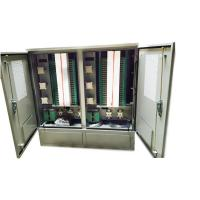Wholesale Outdoor Stainless Steel 1152 Core Fiber Optic Cross Connect Cabinet from china suppliers