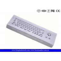 Buy cheap IP65 Rated Industrial Computer Desktop Mini Metal Keyboard With Trackball from wholesalers