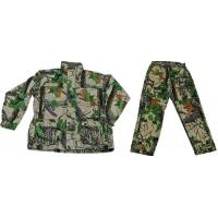 China Camouflage outerwear Woven twill camouflage hunting 2pcs on sale