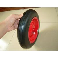 Buy cheap Solid Wheel 3.50-8 solid rubber wheel for wheelbarrow from wholesalers